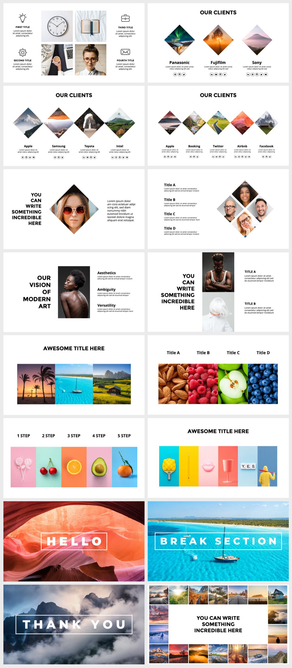 Huge Infographics Bundle! Lifetime Updates! PowerPoint, Photoshop, Illustrator. - 126