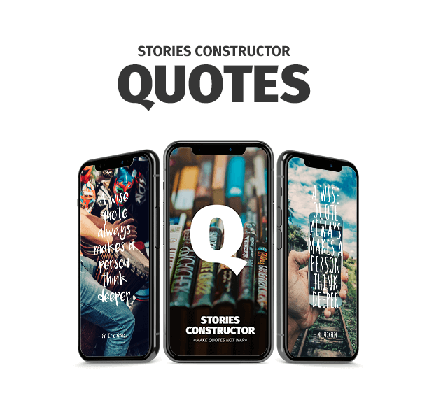 Stories Constructor - Quotes - 3