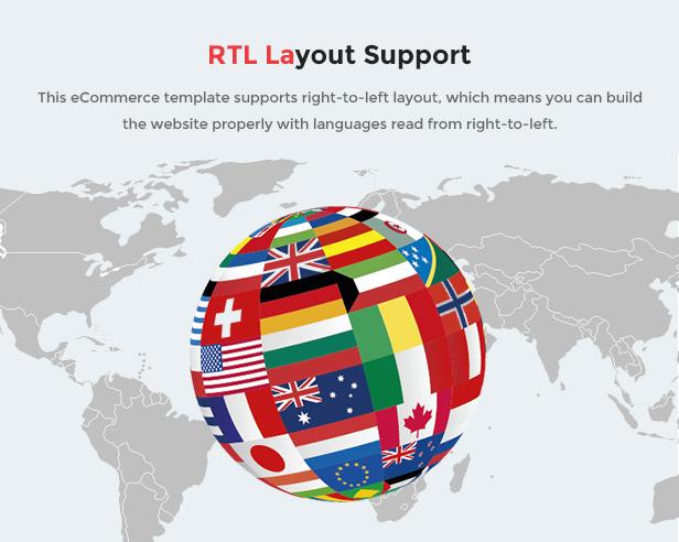 MaxShop - multilingual & rtl