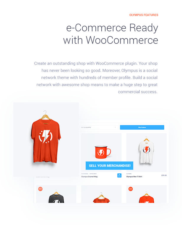 e-Commerce Ready with WooCommerce