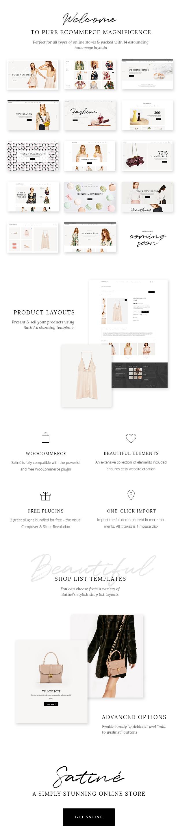 Satiné - Elegant Shop Theme - 1