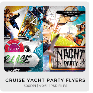 Abstract Party Flyers Bundle Vol1 - 3