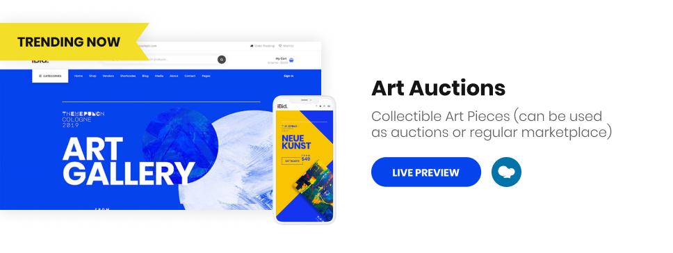 iBid - Multi Vendor Auctions WooCommerce Theme - 10