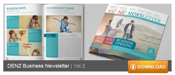 newsletter design - Newsletter Design Ideas