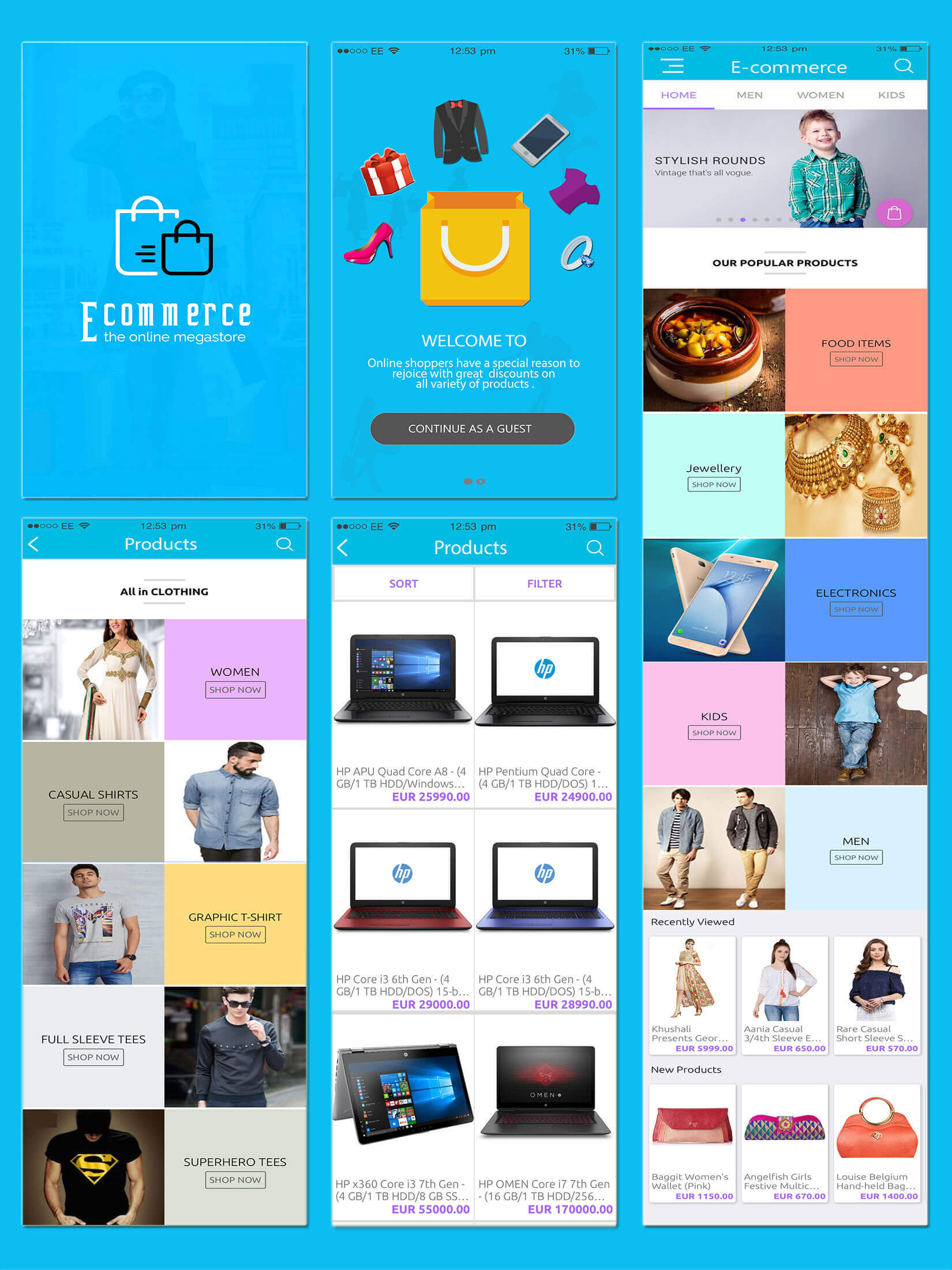 E-Commerce Android Native App with Powerful Cloud Backend - 8