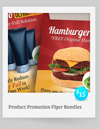 Product Promotion Flyers Bundle
