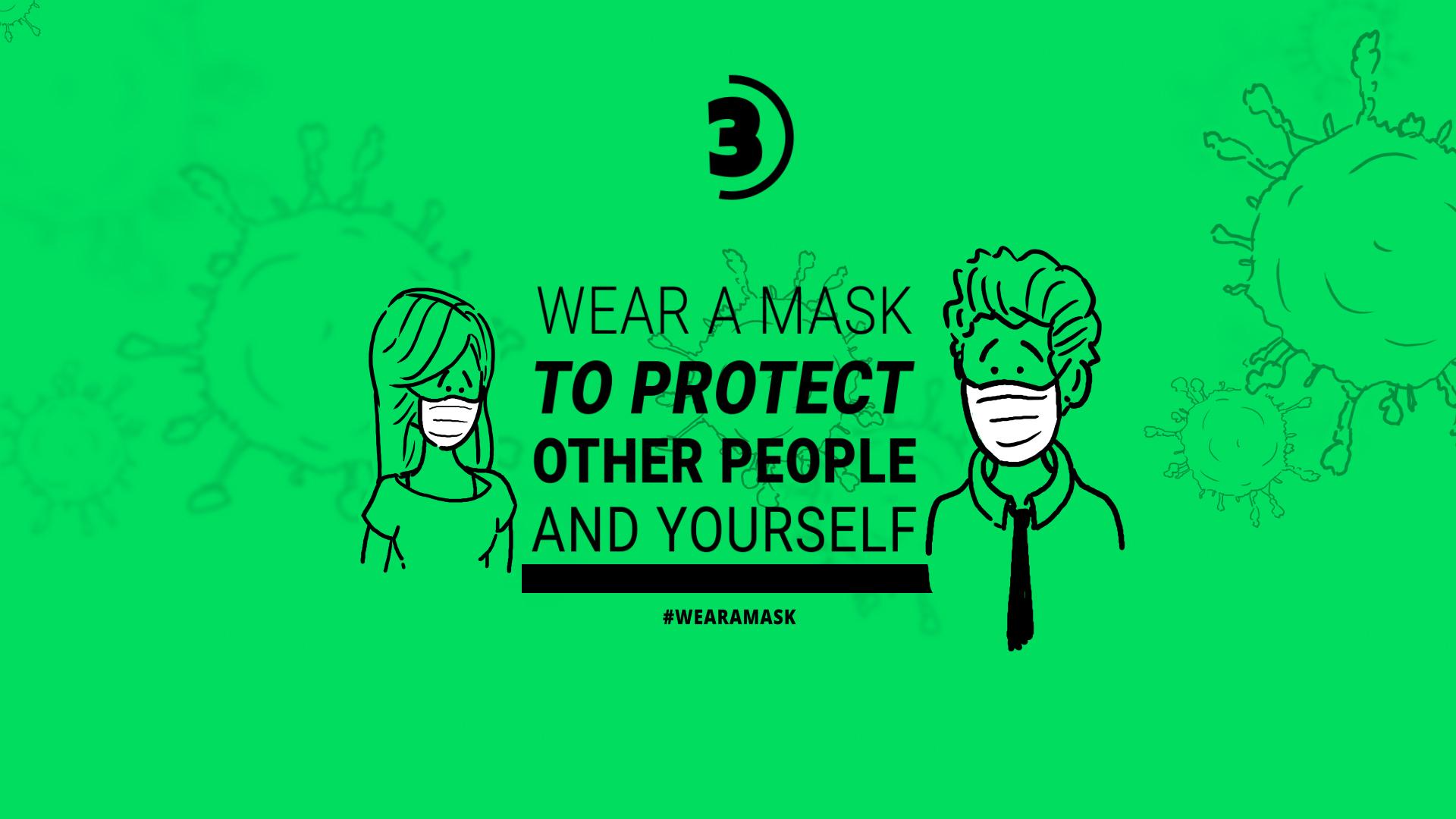 Coronavirus Animation Stay Safe - 1