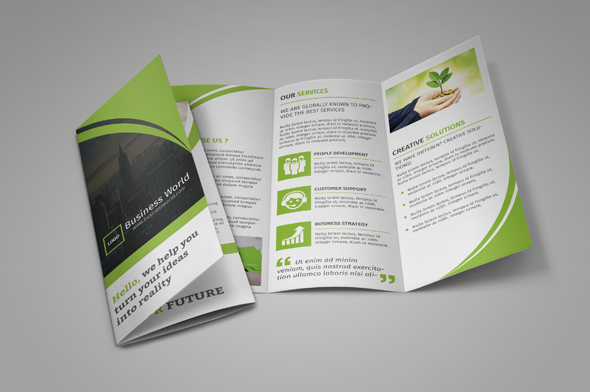 Tri-fold Brochure-Multipurpose - GraphicRiver Item for Sale