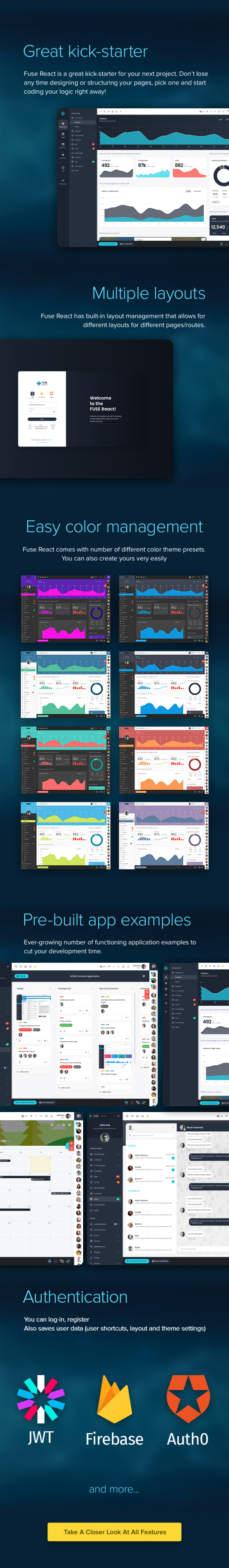 Fuse - React Redux Material Design Admin Template by