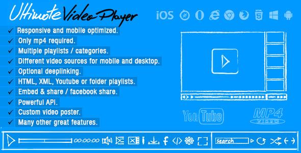 Ultimate Video Player WordPress Plugin