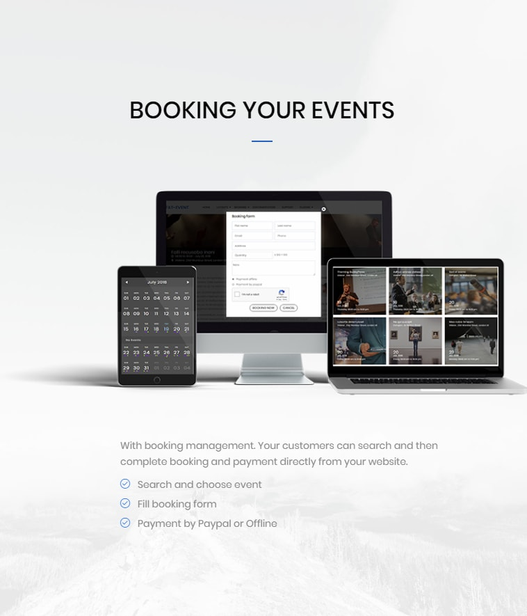 FAT Event - WordPress Event and Calendar Booking - 6