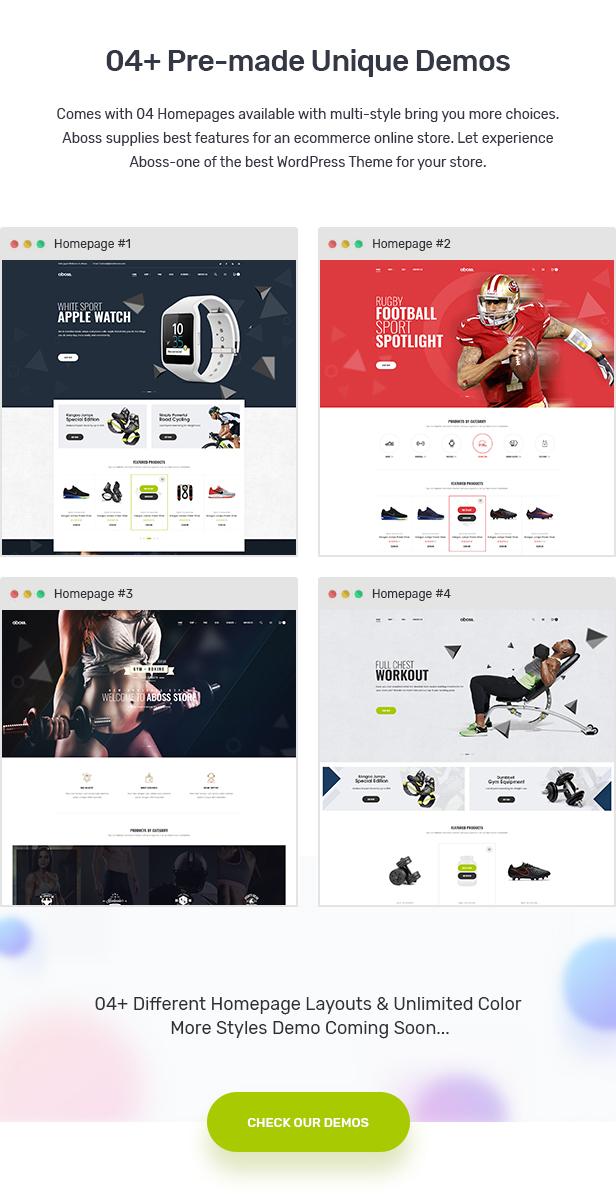 Aboss - Responsive Theme for WooCommerce WordPress 23