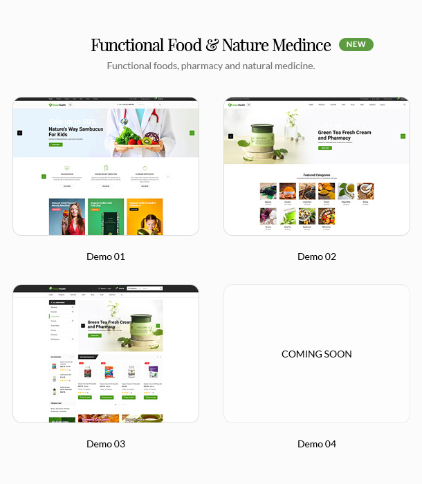 GreenMart – Organic & Food WooCommerce WordPress Theme - 8