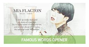 Famous Words