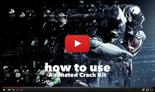 Gif Animated Crack Kit Photoshop Action - 20