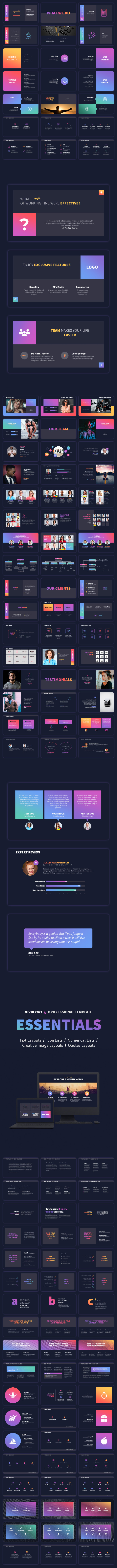 VIVID 2021 - Professional PowerPoint Presentation Template - 14