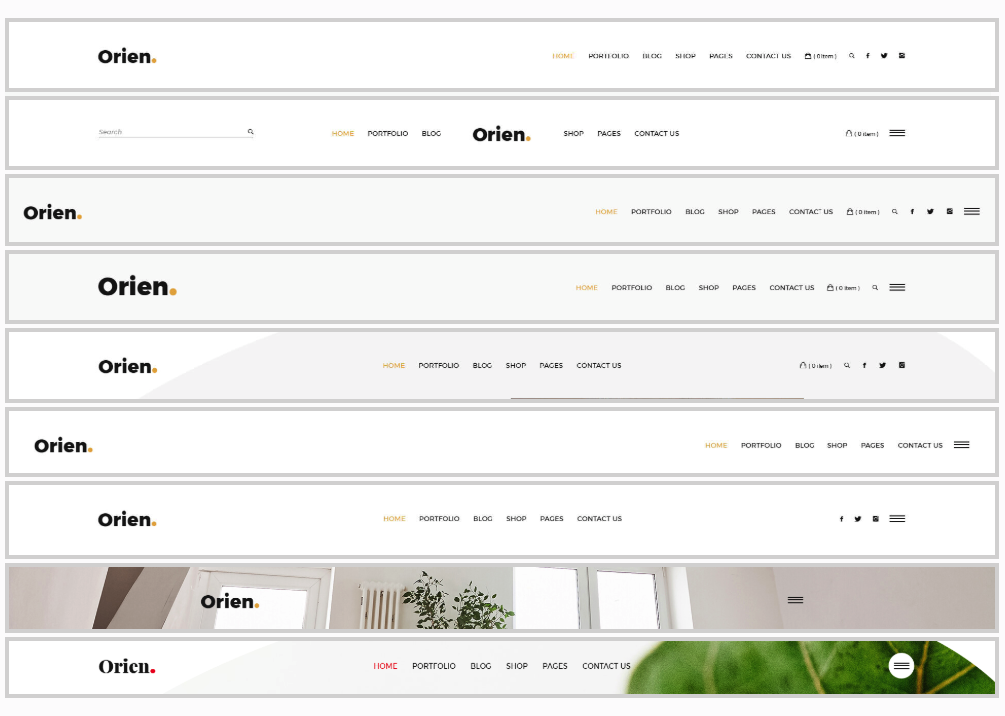 Orien - Creative Portfolio WordPress Theme - 9