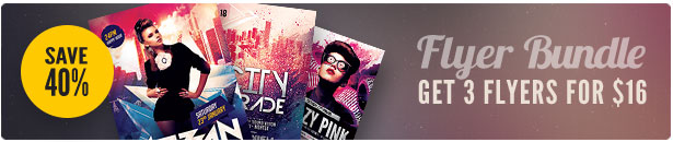 Party Flyer Bundle Vol22
