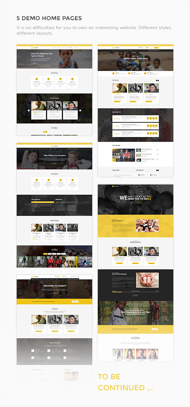 charity nonprofit fundraising joomla template by templaza