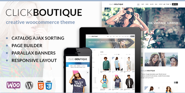 Click Boutique - Fashion Shop WordPress WooCommerce Theme