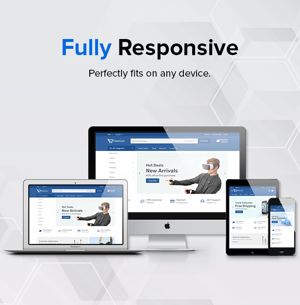 fully responsive