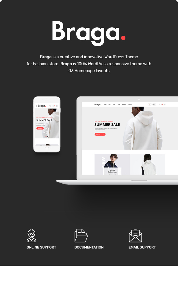 Braga - Fashion Theme for WooCommerce WordPress 22