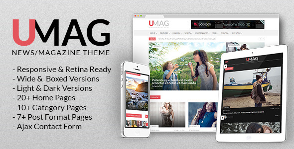 UMag - News, Magazine & Blog Template