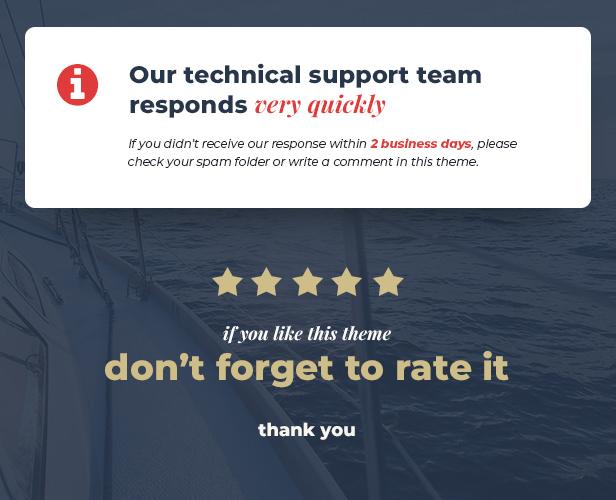 Lamaro - Yacht Club and Rental Boat Service WordPress Theme - 5