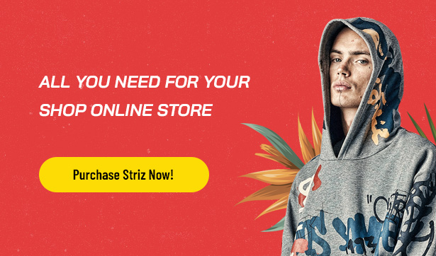Striz Best Fashion Ecommerce WordPress Theme