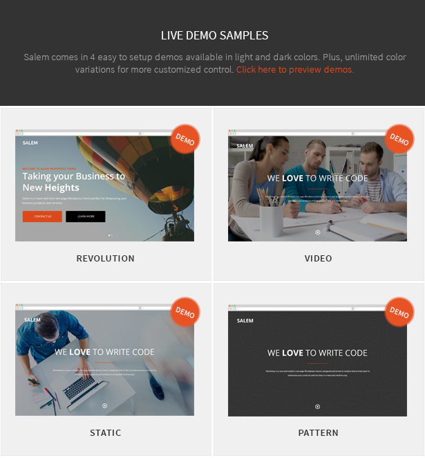 Salem - Clean and Bold One Page Wordpress Theme - 5