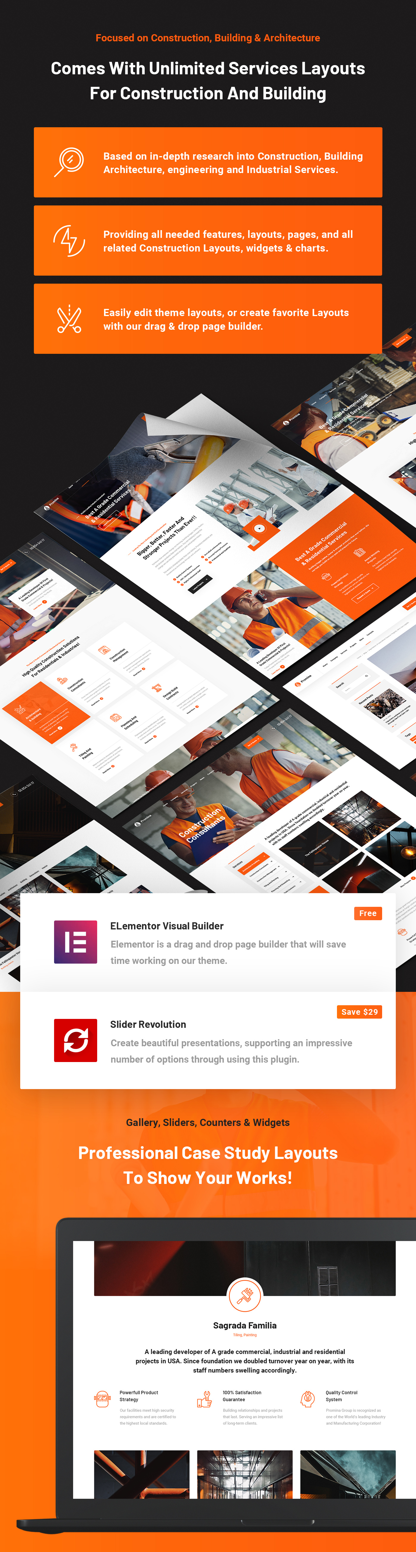 Promina - Construction Building & Architecture Business WordPress Theme - 7
