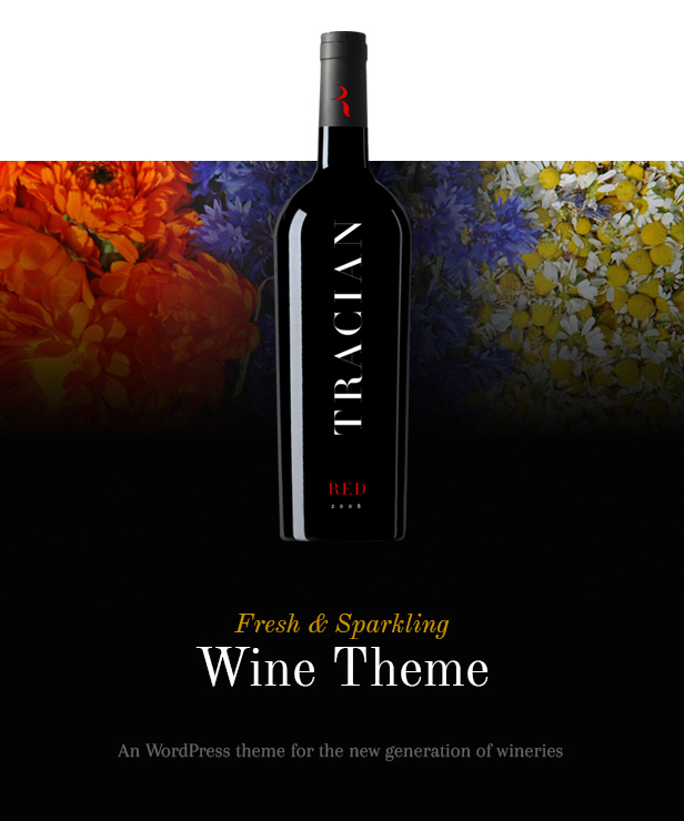 Tracian - Wine WordPress Theme