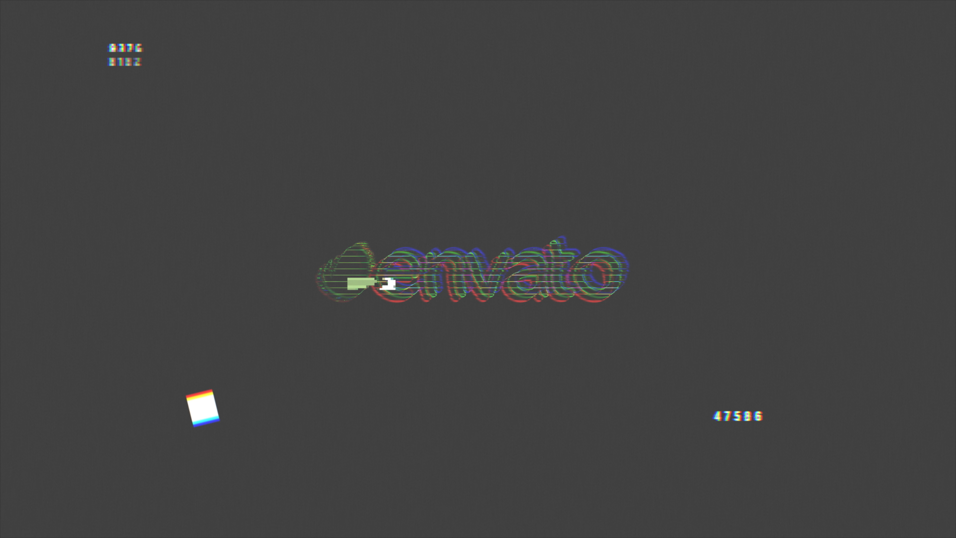 Glitch Logo Reveal - 1