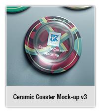 Ceramic Coaster Mock-up v5 - 2