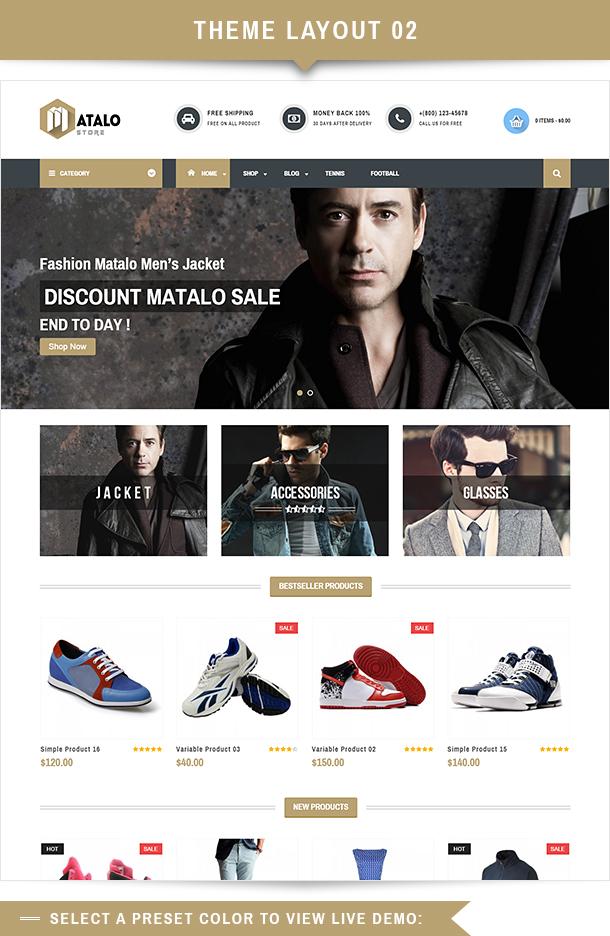 VG Matalo - eCommerce WordPress Theme for Online Store - 13