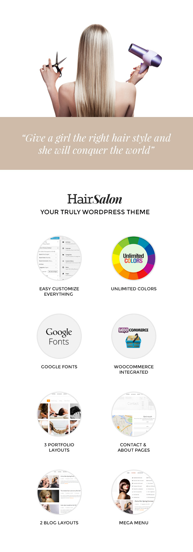 Hair Salon - Barber & Beauty Shop WordPress Theme - 6