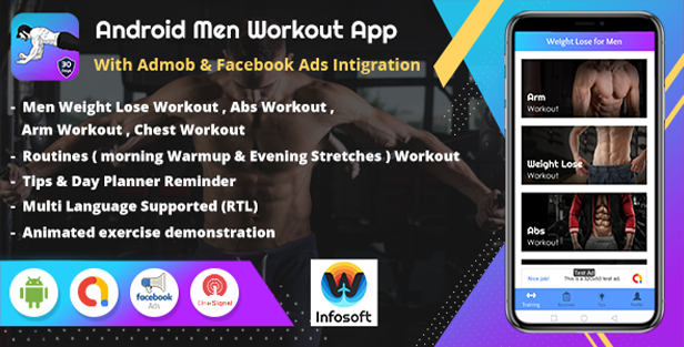 Men Workout App