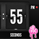 Flip Clock and Date