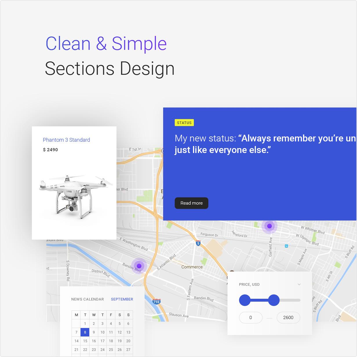 Bzzz - Gadgets eCommerce PSD Template - 8