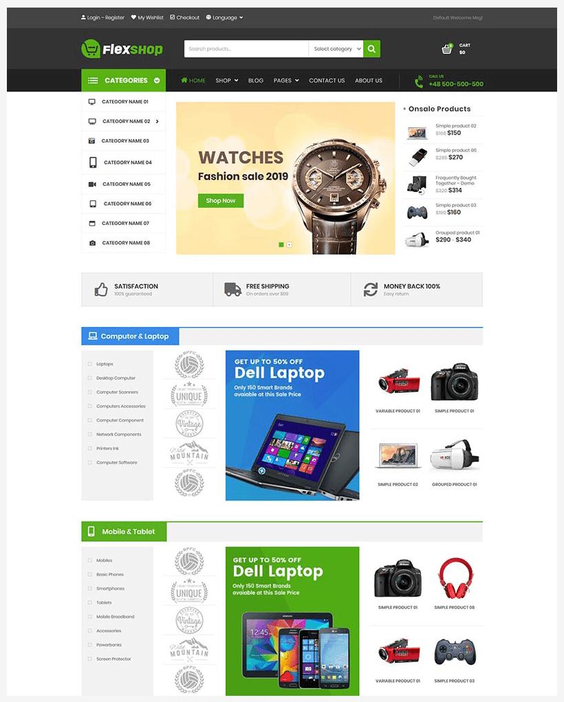 VG Flexshop - Multipurpose Responsive WooCommerce Theme - 8