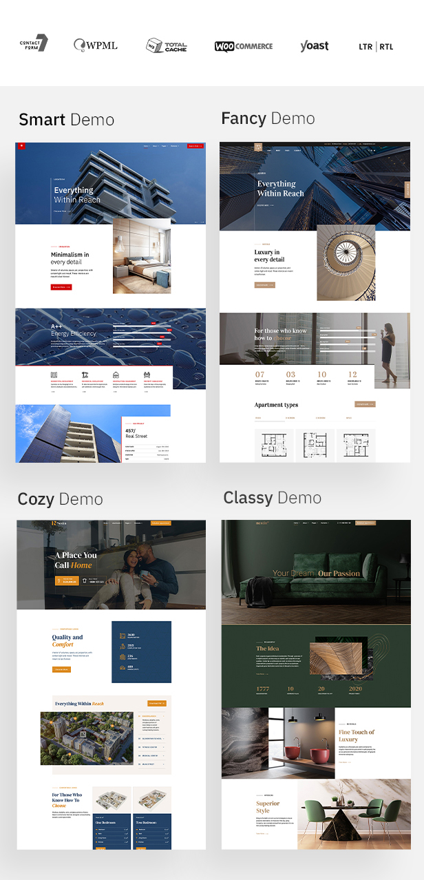 Nestin - Real Estate WordPress Theme - 5