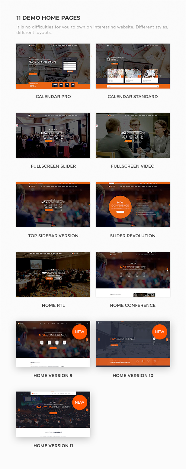 Meetup - Conference Event WordPress Theme - 3