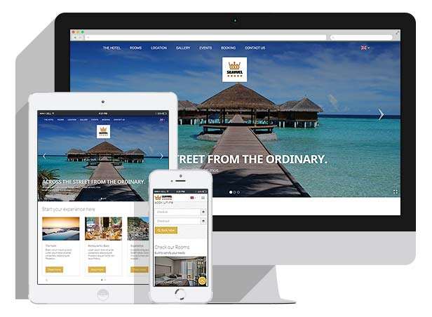 SeaVuel | Multilingual - Hotel website with CMS | Bootstrap 4 theme - 1