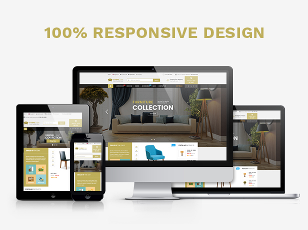 Responsive Furniture WooCommerce WordPress Theme - Fully Responsive