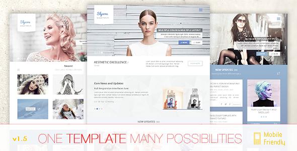 Slycore Responsive Flatstrap Blogger Template - Blogger Blogging