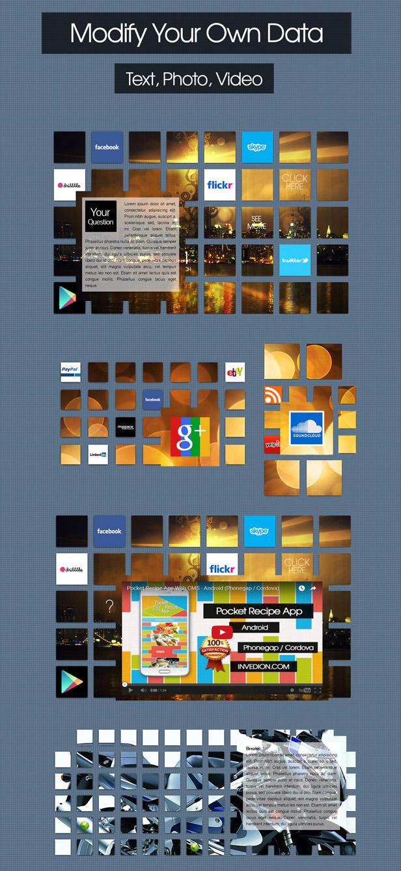 Social Mosaic Wall - 1