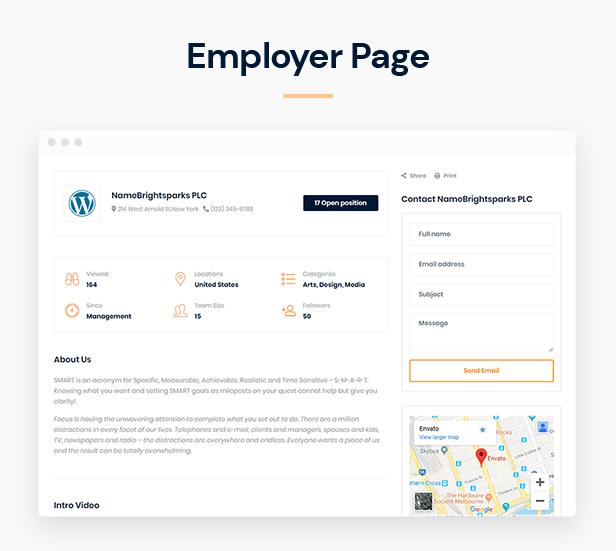 Jobber - Job Board HTML5 Template - 7