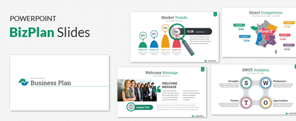 Business Plan Success Presentation Template