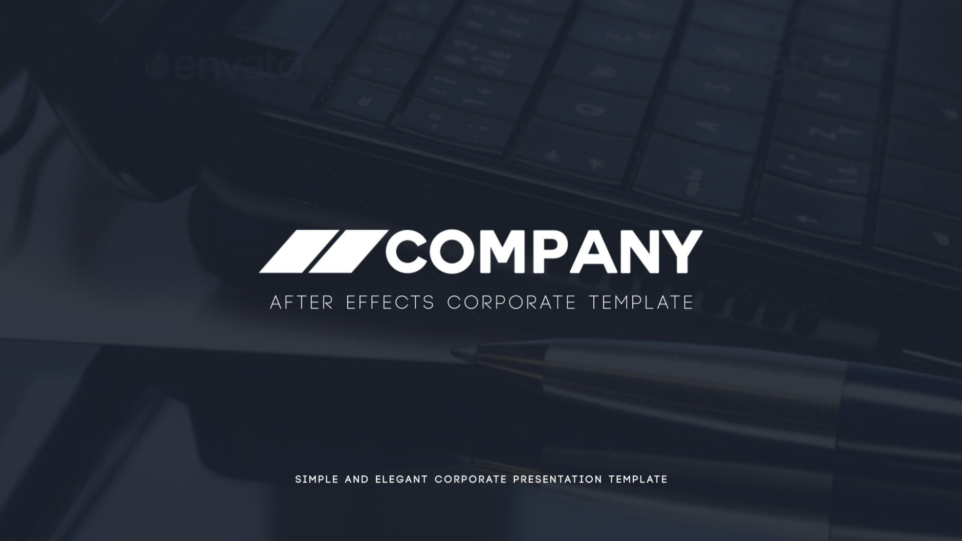 clean corporate presentationdearts | videohive, Presentation templates