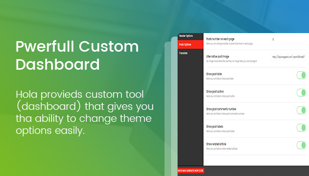 Hola - Personal Blogger Template For Bloggers - 5